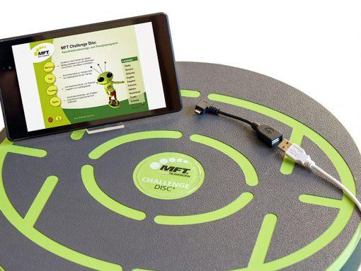 MFT Challenge Disc - inkl. USB-OTG-Adapter zum Anschluss an Smartphones und Tablets