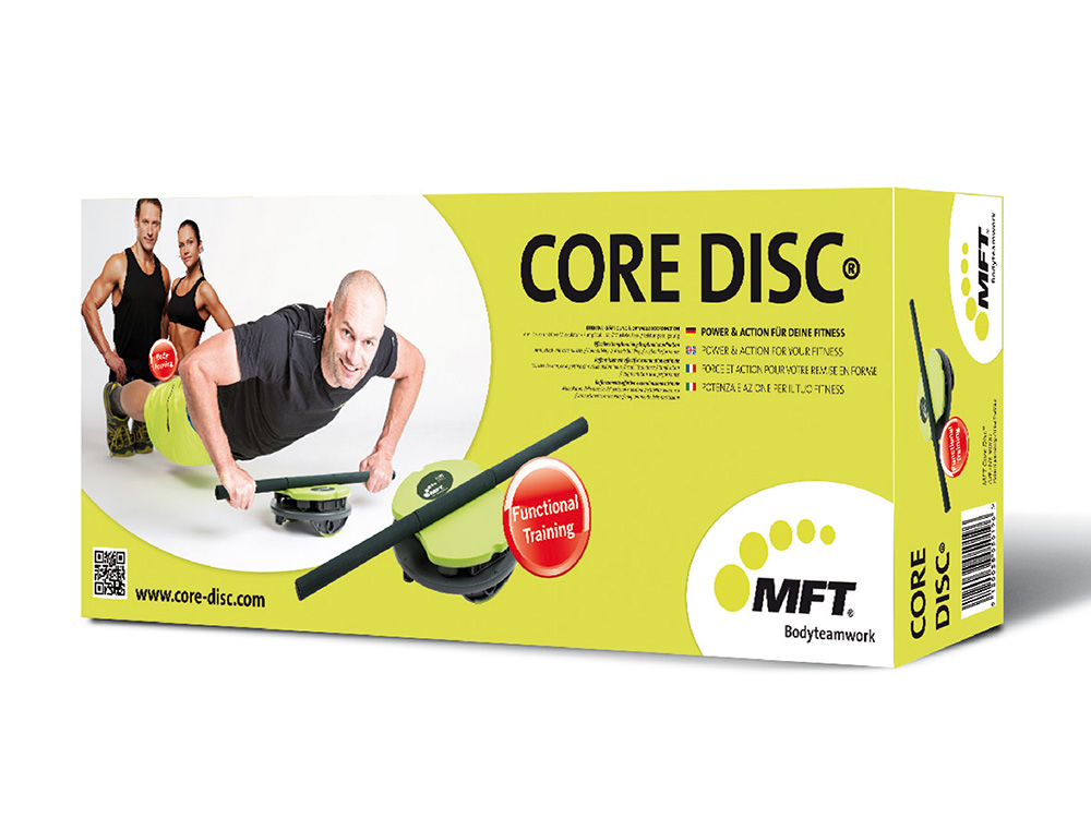 MFT Core Disc Verpackung - Lieferumfang