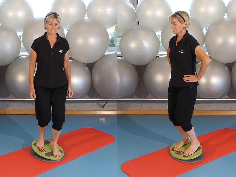 MFT Fit Disc Übungen: Diagonal und Front Wipp