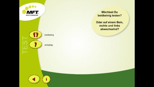 MFT Challenge Disc App - Trainingsprogramme einbeinig/beidbeinig