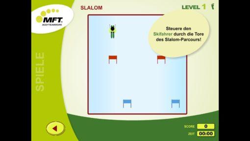 MFT Challenge Disc App - Trainingsspiel Skifahren/Slalom