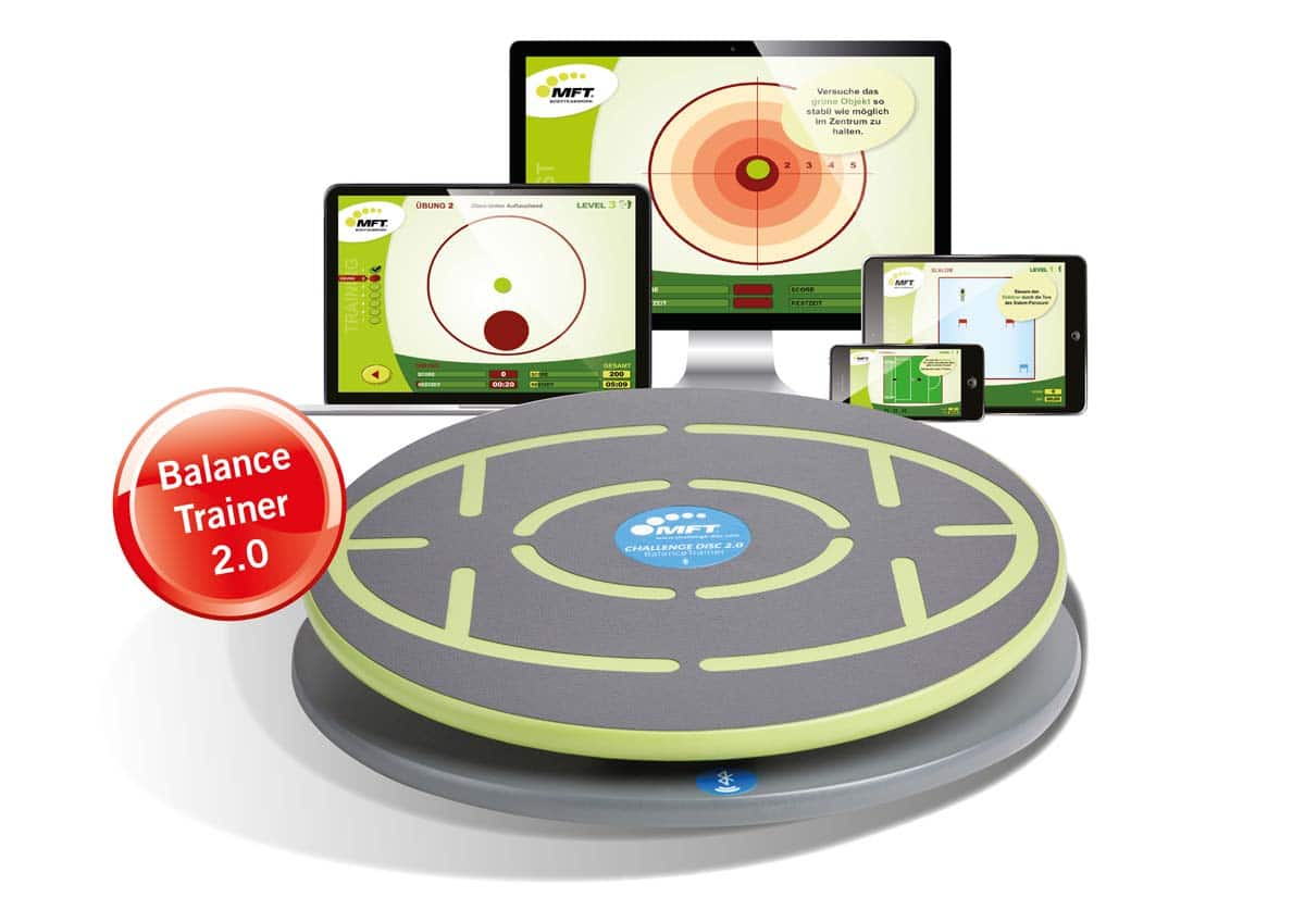 MFT Challenge Disc - digitales Balance-Board mit Trainings-Software/App