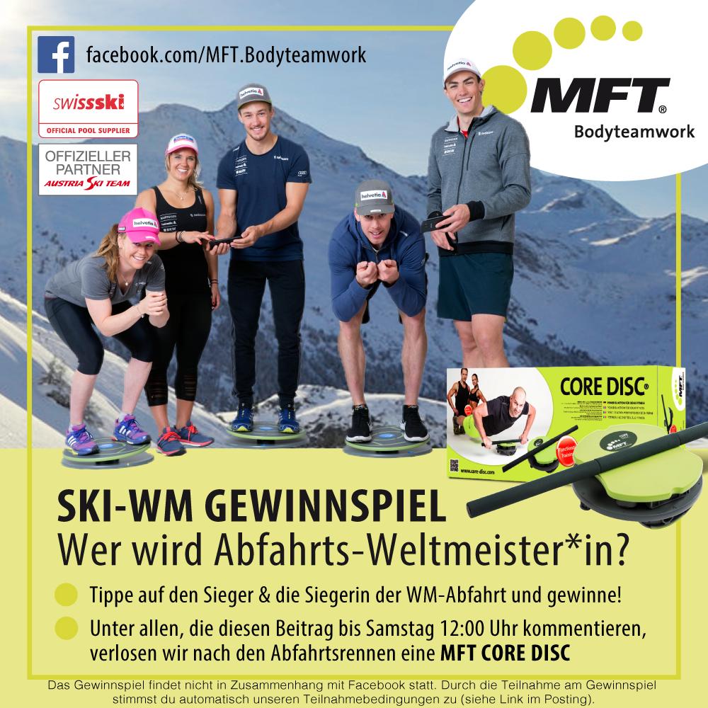 Ski-WM 2017 Gewinnspiel - Wer wird Abfahrts-Weltmeister und Weltmeisterin in St. Moritz