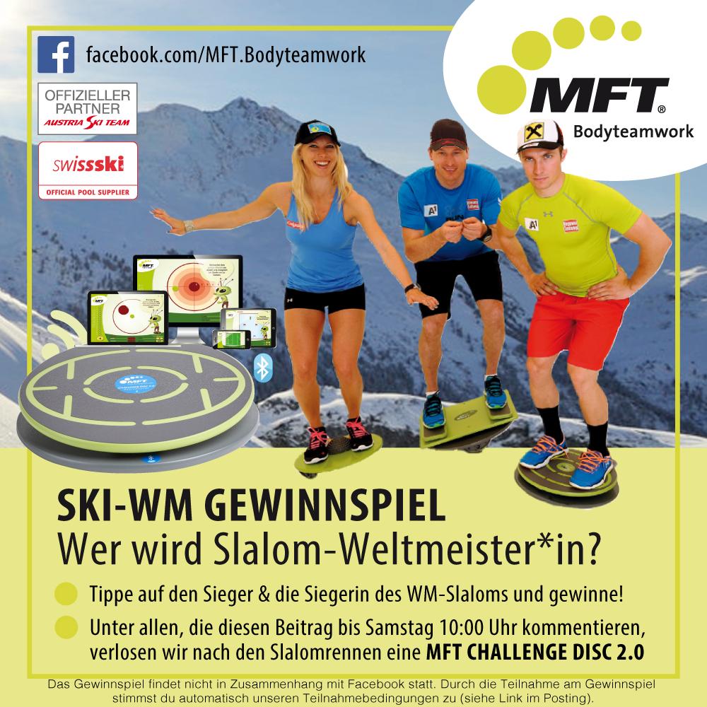 Ski-WM 2017 Gewinnspiel - Wer wird Slalom-Weltmeister und Weltmeisterin in St. Moritz