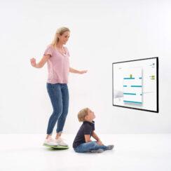 Spielerisches Balance-Training für Erwachsene und Kinder mit der MFT Bodyteamwork App