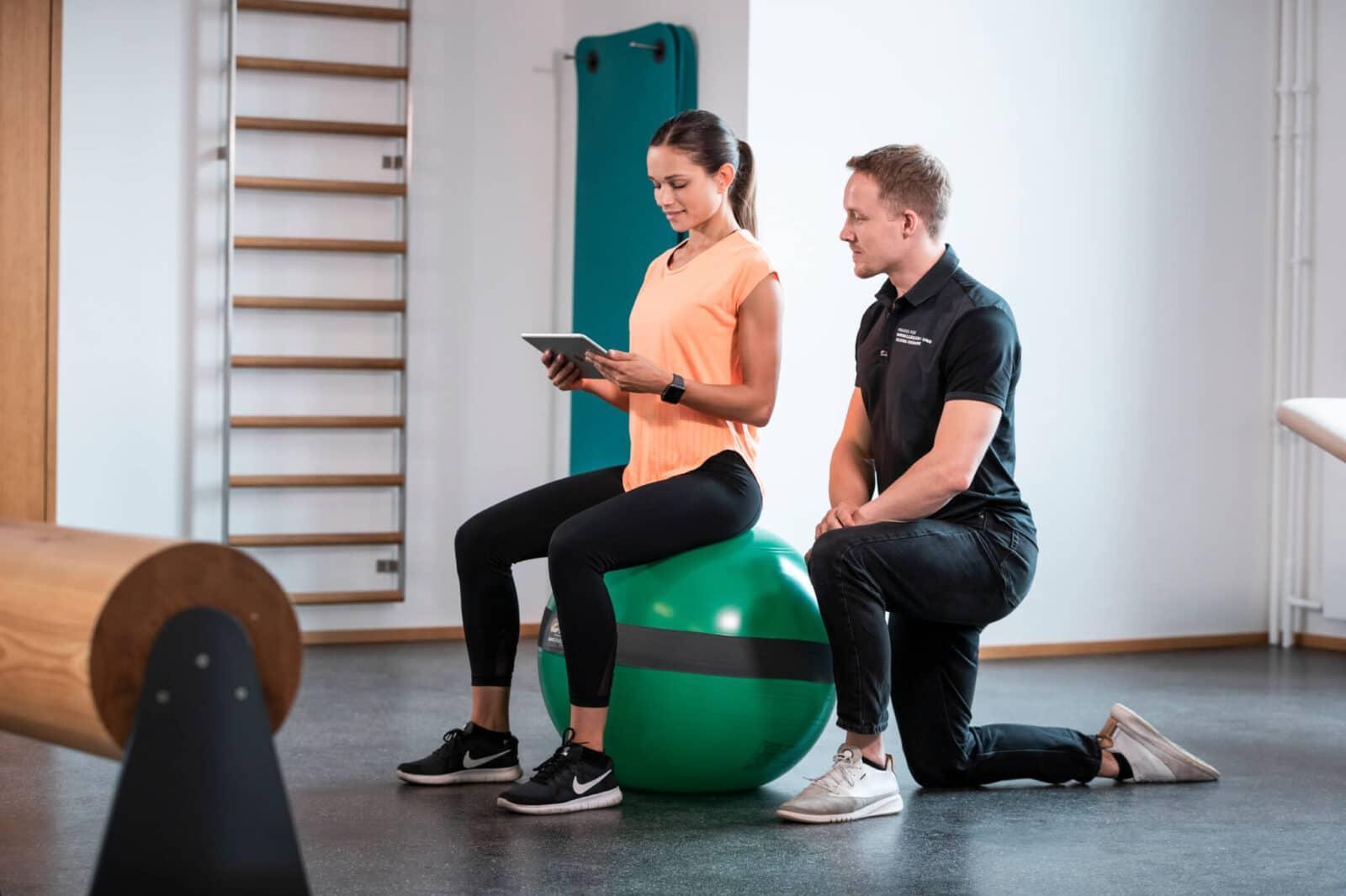 MFT Digital Line Balance Sensor für Sit Ball